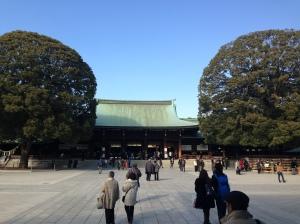 Meiji Shrine Hondo